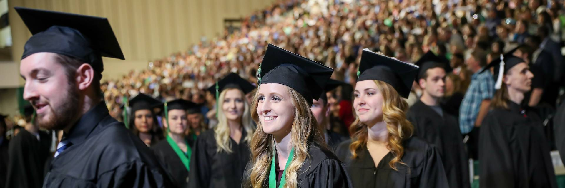 UND Arts & Sciences Students at Graduation