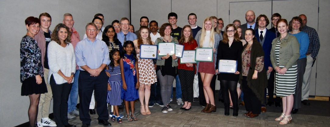 previous chemistry scholarship award winners