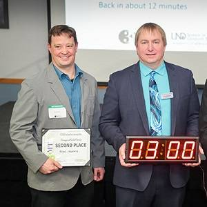 3-minute thesis competition winners